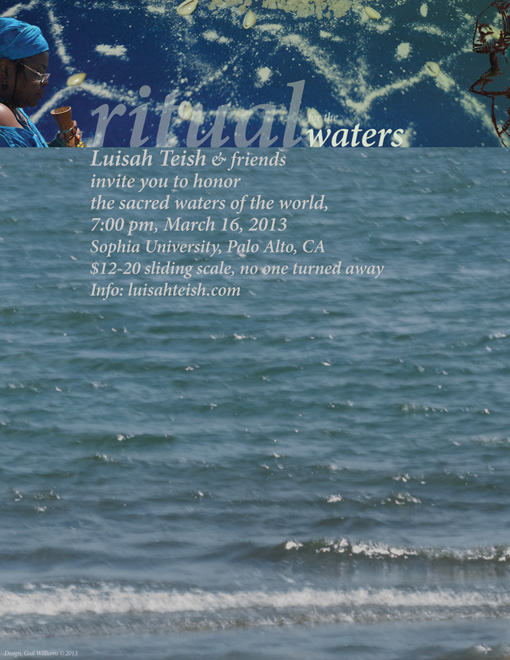 poster for Ritual for the Waters, 2013