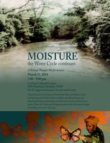 flyer for MOISTURE:The Water Cycle Continues