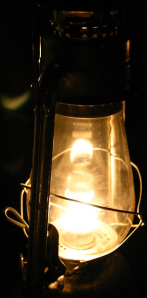lantern lights the way