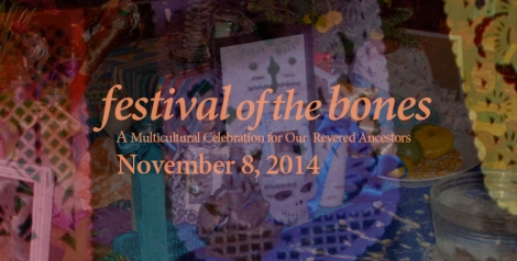 festival of the bones altars photocollage