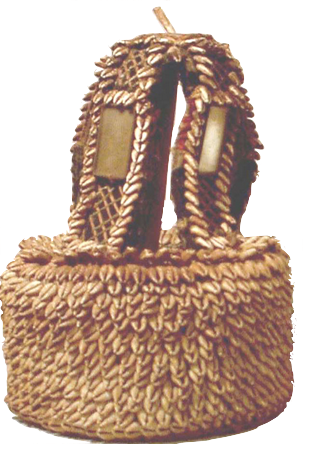 Yoruba House of Ori made as a basket form
