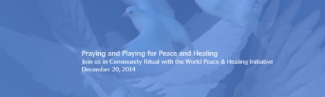 announcing peace and healing initiative ritual