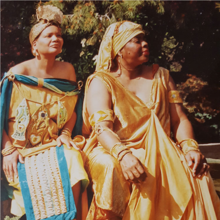 Yeye Teish and Iya Oshogbo in the 1980's