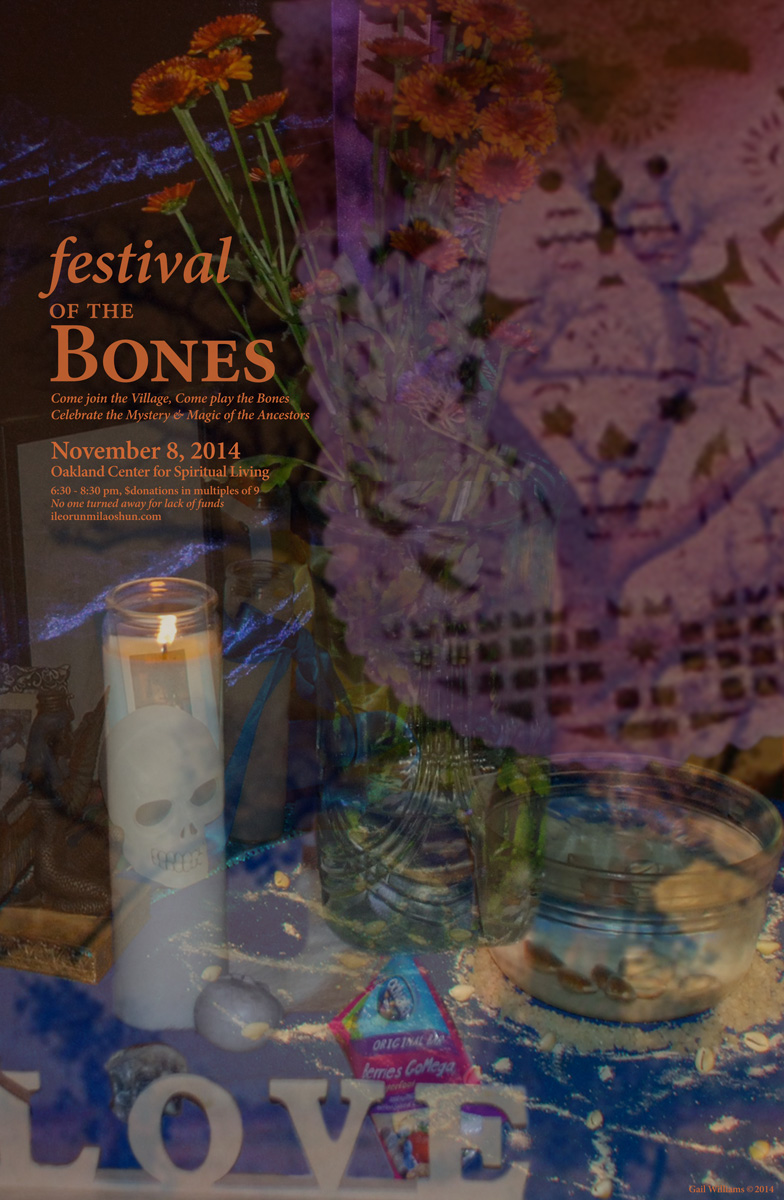 Festival of the Bones 2014, rgb Poster